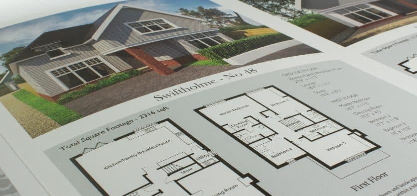 top ten tips for new homes brochure design