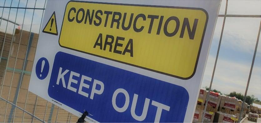 Contractor building site insurance