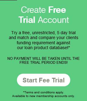 Broker online loan search platform