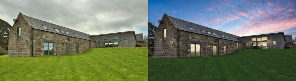 Enhancing new homes marketing for a barn conversion