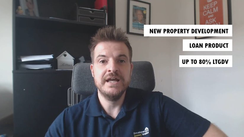 80% LTGDV Property development loan product